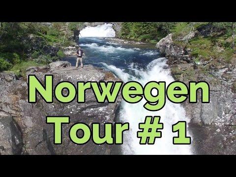 Südnorwegen & Fjordnorwegen - Norwegen Camping & Auto-Reise Tour Vlog#1