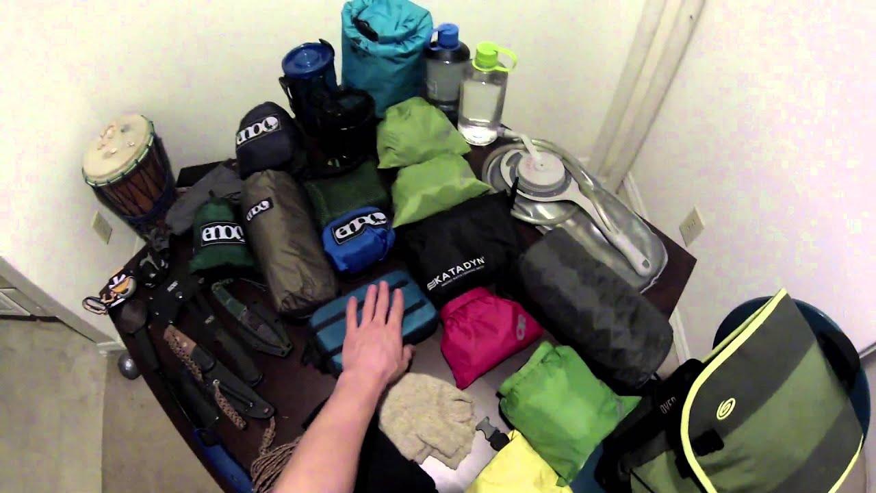 New Sleeping Bag Amp Hammock Backpacking Gear List
