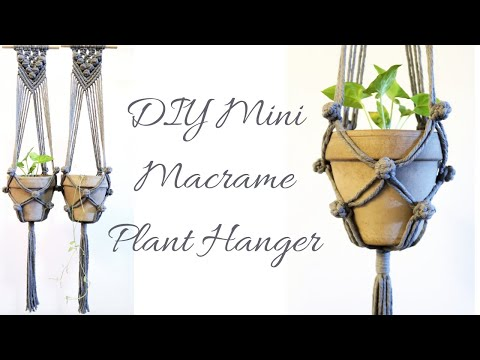 diy-mini-macrame-plant-hanger-|-step-by-step-macrame-plant-hanger-tutorial-#5