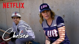 Chelsea Talks School and Girls with the Las Vegas Recruits Little League Team | Chelsea | Netflix