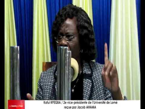 Kafui KPEGBA / 2e vice-présidente de l'Université de Lomé parle de l'arrestation de Folly SATCHIVI