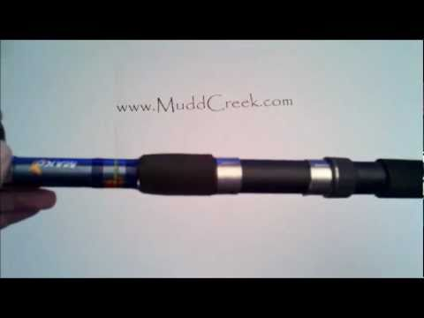 Calypso Mako 7' Telescoping Spinning Fishing Rod Review by MUDD CREEK
