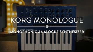 Korg Monologue | Reverb Demo Video