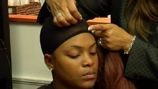 How to Protect African-American Hair Under a Wig : African-American Hairstyling