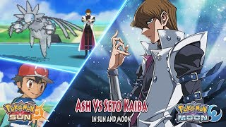 Pokemon Crossover Anime: Ash Vs Kaiba Seto (Pokemon Vs Yu Gi Oh)