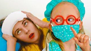 Песня для детей про доктора - Детская песня от Майи и Маши
