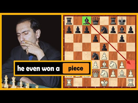 Tal Won A Piece In The Opening But Then Started Series Of Sacrifices