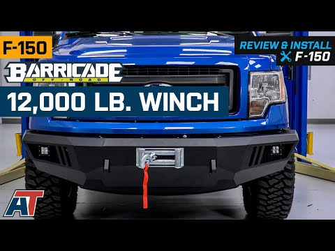 1997-2019 F150 Barricade 12,000 lb. Winch Review & Install