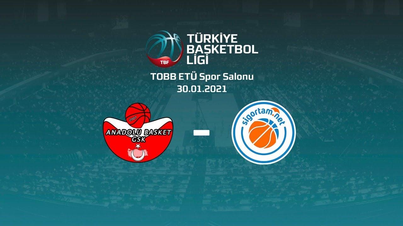 Ankara Anadolu Basket – Sigortam.Net TBL 16.Hafta