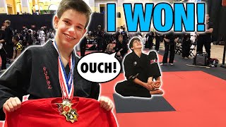 ninja kid wins ata martial arts world championship