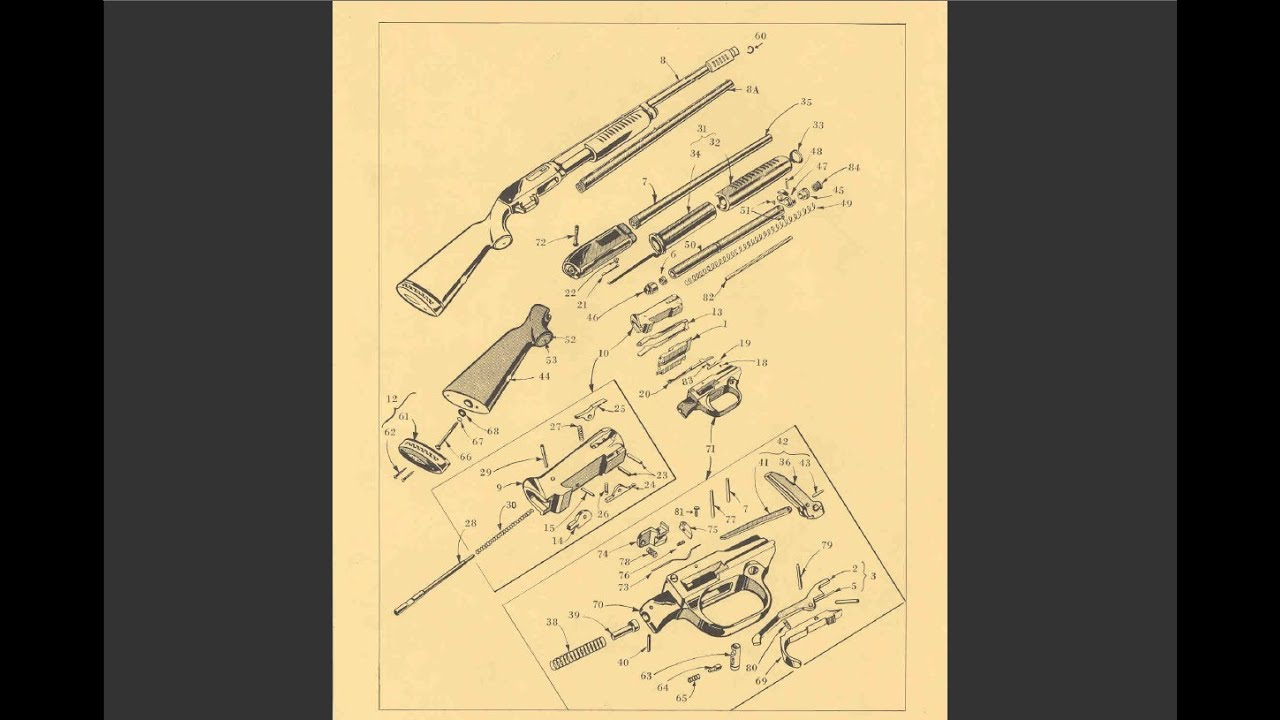 Man Vs Junk Ep 75 Jc Higgins Gun Restoration Part 1 Youtube Each Of The 60 M1 Garand Parts From Az With Images Diagrams And