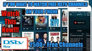 How to watch dstv channels for free ON YOUR PHONE || UPDATED|| screenshot 1