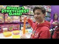 Download WORLD'S STRETCHIEST SLIME!!! Toy Fair 2019 ORB & Far Out Toys!