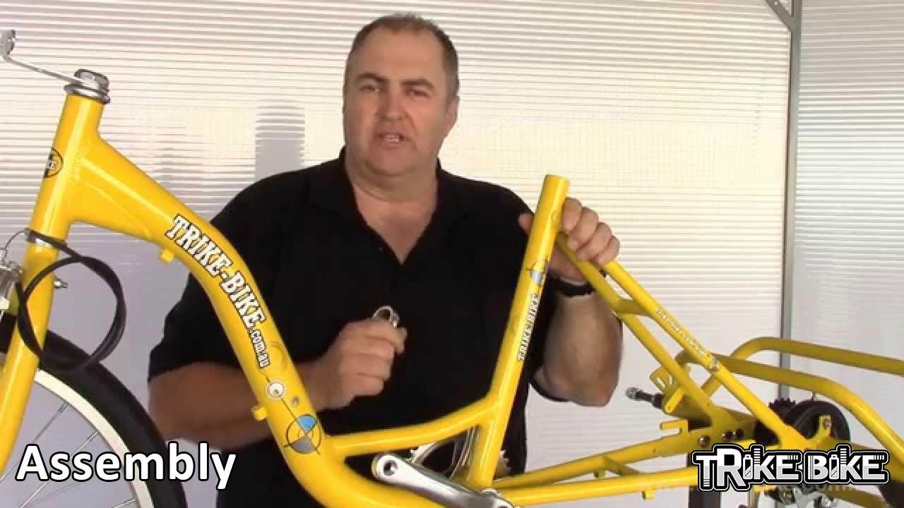 How to assemble the genuine Trike Bike - www trike-bike com au