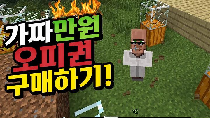 가짜 만원으로 오피권 구매하기!!