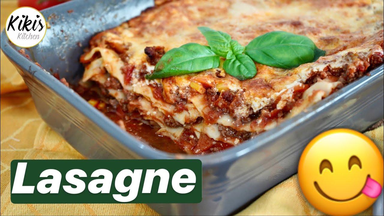 Die leckerste Lasagne der Welt / Mein Lasagne Rezept / Rezepte zum  Mittagessen