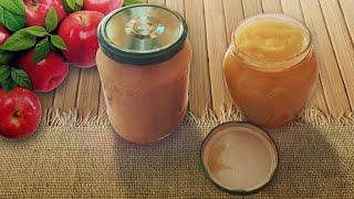 Рецепт домашнего яблочного пюре без духовки