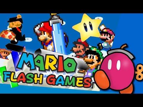 Old Mario Flash Games