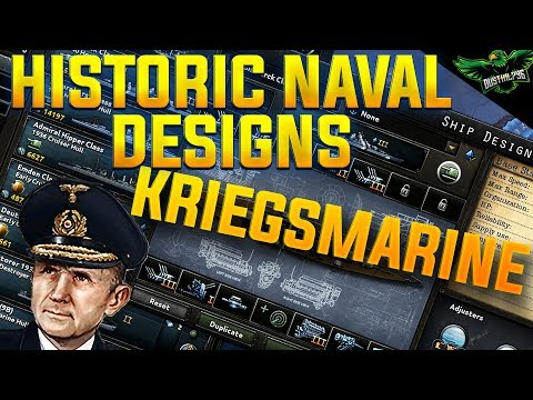HOI4 Historical Ship Designs: Kriegsmarine (Hearts of Iron 4 MTG Expansion Guide)