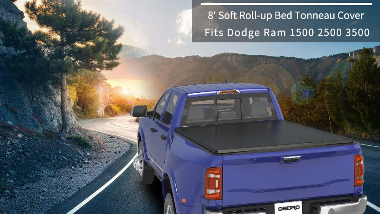 Oedro Pickup Roll Up Tonneau Cover Bed Cover Installation Demo