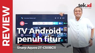Review Sharp Aquos Android TV Indonesia, pinter nih TV