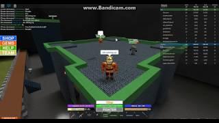 Roblox campo de batalha: um duelo com Chernxun