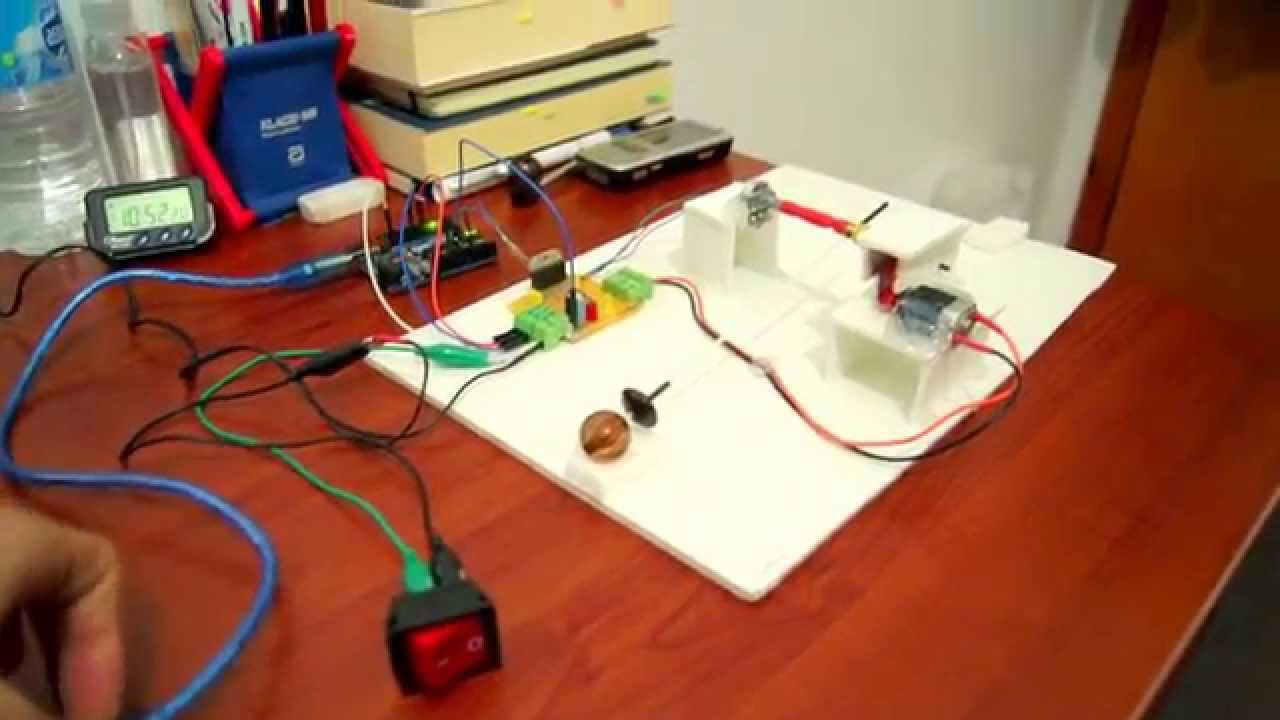 Arduino Bot - Line Follower with Fuzzy algorithm and