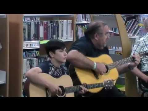 Waterways of England written and performed by Albert & Daniel at Upton Library 6.5.18