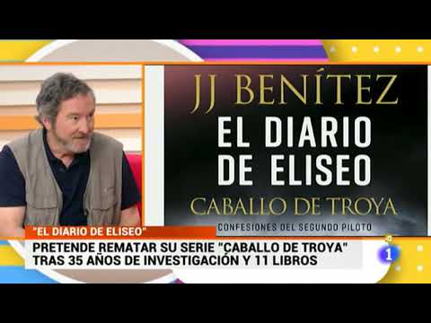 J. J. Benítez - EL DIARIO DE ELISEO En La 1 De TVE.