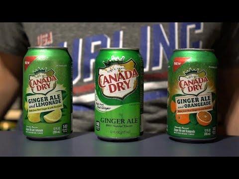 CTC Review #125 - Canada Dry Ginger Ale: Regular Vs. Lemonade Vs. Orangeade