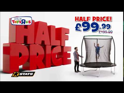 £99.99 8ft Trampoline & Enclosure At Toys R Us UK