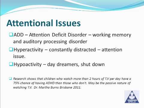The different types of learning difficulties