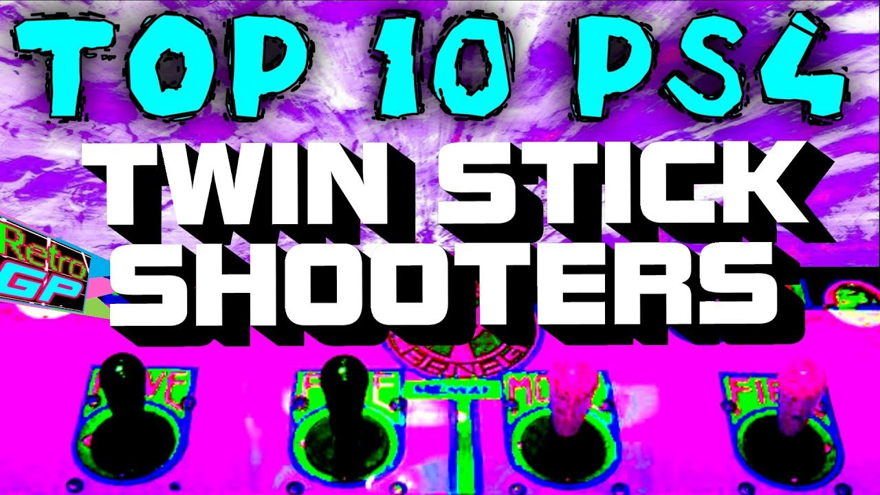 Top 10 PS4 TWIN STICK Shooters BEST with Physical Release - Retro GP
