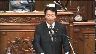 10 16 衆議院本会議 代表質問 海江田万里(民主党)