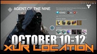 Destiny - New Xur Location Week #5 (October 10-12)