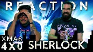 Sherlock 4x0 REACTION!!
