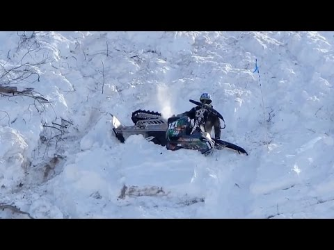 Crazy Epic Snowmobile Hill Climb Just Snowmobiles Youtube
