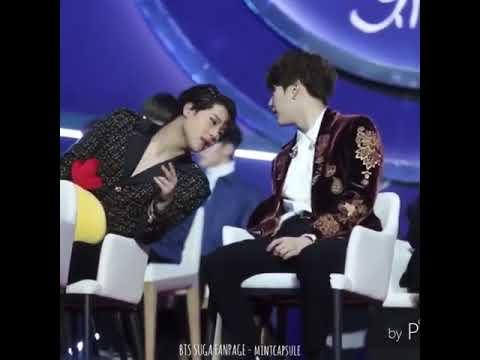 Jooheon & Suga interacting - YouTube