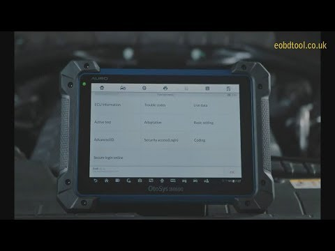 AURO OtoSys IM600 Diagnostic & Key Programming Tool Promotional Introduction