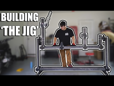 Let's Build A Motorcycle - Building The Frame Jig