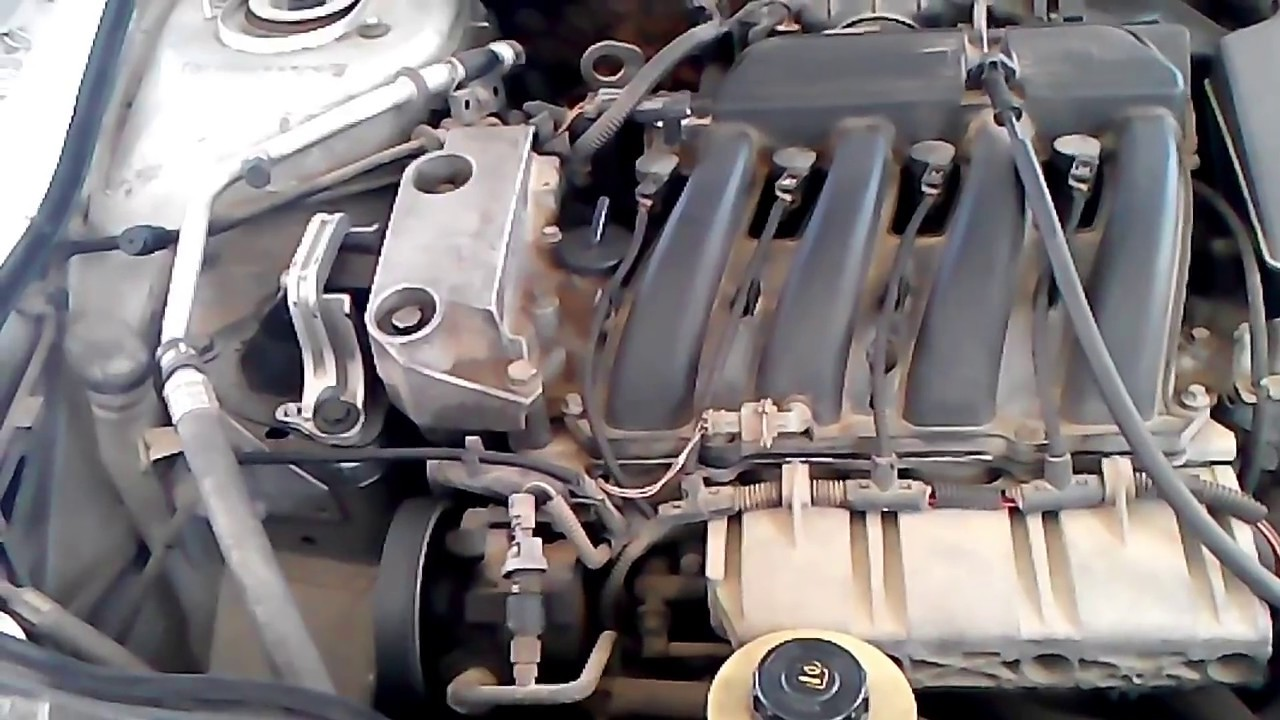 renault laguna 1 6 16v timing belt replacement and coolant pump [ 1280 x 720 Pixel ]