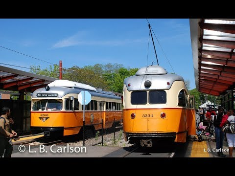 MBTA Green Line & Mattapan Trolleys 9 25 2017