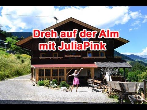 Erste Einblicke zum Dreh auf der Alm mit JuliaPink
