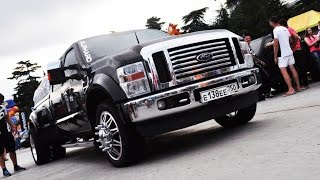MUSIC MONSTER Ford F-350 customized by ALPHARD