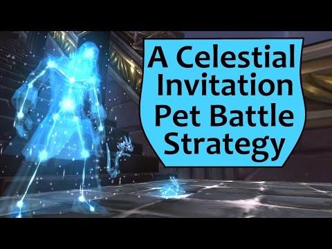 Celestial Invitation - Algalon the Observer Pet Battle Strategy Guide