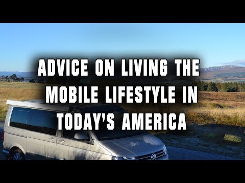 Advice on Living the Mobile Lifestyle in Today's America