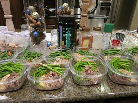 How I meal prep for weight loss + Sprouts  #MEALPREPSUNDAY  Off Season Week 1 #Iam1stPhorm
