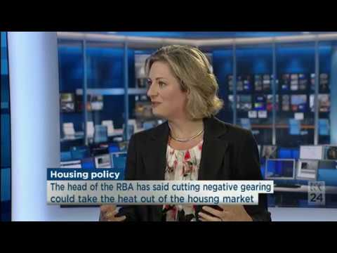 Carrie Hamilton discusses bond aggregation with ABC TV News 24 (10 March 2017)