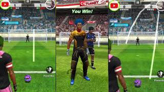 FOOTBALL STRIKE THE DAILY MATCH DIFFERENT SKILLS ARGENTINA AND TURKEY MC GAMING