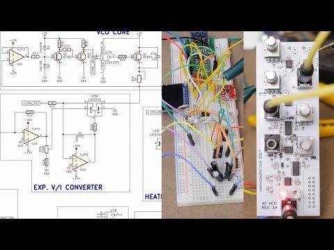 Modular Synth VCO Design & Build